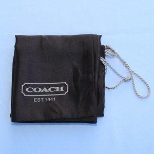 "Coach Dust Cover Storage Bag Size 19""x 15"""